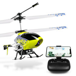 Cheerwing U12S Mini RC Helicopter Camera Remote Control Helicopter Kids Yellow $35.98