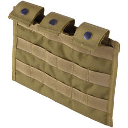 Flyye Army Triple Range Magazine Ammo Pouch Ver. Mi MOLLE Coyote Brown $49.95
