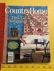 Country Home Magazine Let#x27;s Go Antiquing 2013 Collector#x27;s Issue Collectibles $8.00