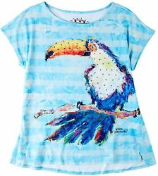 Leoma Lovegrove Womens Toucan King Top $22.25