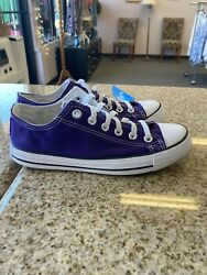Converse Chuck Taylor All Star Mens Shoes electric Purple 5.5 men's Or 7 Womens $29.99