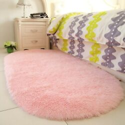 YOH Fluffy Pink Area Rugs for Bedroom Girls Rooms Kids Rooms Nursery Decor Ma... $26.57