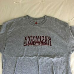 Skywalker Ranch T Shirt Vintage and Brand New Size XL Rare $60.00