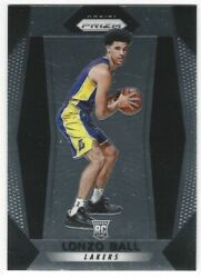 LONZO BALL 2017 18 PRIZM ROOKIE LAKERS PELICANS