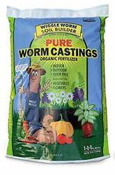 30Pounds Worm Castings Organic Fertilizer Wiggle Worm Soil Builder Free Shipping $52.28