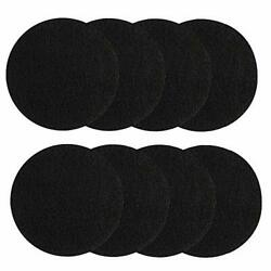 8 Pieces Compost Bin Filters for Kitchen Compost Pail Replacement Charcoal $17.44