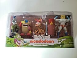 Ren and Stimpy Collector Figure Set of 5 Nickelodeon 2017 $28.00