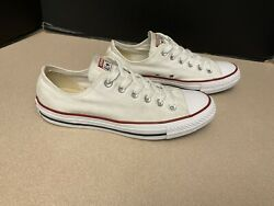 Womens Converse Chuck Taylor All Star White Low Top Shoes. Size 9. Nice Shoes $35.00
