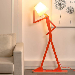 Hroome Cool Creative Floor Lamps Wood Tall Decorative Reading Standing Swing Arm $123.52