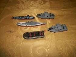 Micro Machines Lot Galoob: Military Boat Collection Lot $12.50