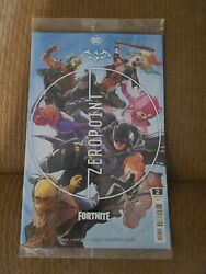 Batman Fortnite Zero Point #2 Sealed with Code DC 2021 NM Cover A $9.49