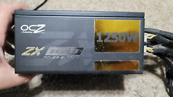 OCZ FirePower ZX Series 1250W Modular Power Supply PSU Works great $150.00