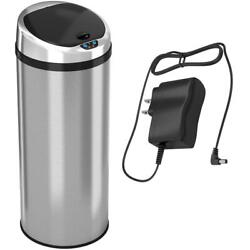 Automatic Trash Can Stainless Steel Touchless Kitchen Bin Infrared Motion Sensor $97.09