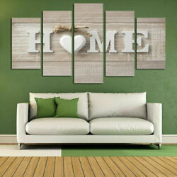 5PCS Abstract Wall Art Canvas Painting Home Unframed Decor Print Modern Oil Gift $16.99