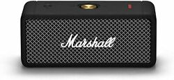 Marshall Emberton Portable Bluetooth Speaker Black amp; Brass $120.00