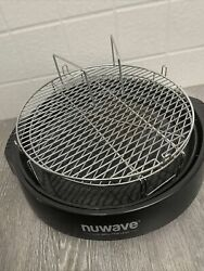Nuwave Pro Infrared Oven Replacement Base Tray Drip Pan amp; Tray Black Model 20632 $39.99