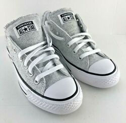 Converse Chuck Taylor All Star womens size 7 sneakers Madison gray marled $44.00