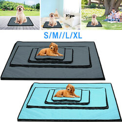 Pet Dog Cooling Mat Non Toxic Cool Pad Pet Bed For Summer Dog Cat Puppy S M L XL $10.59