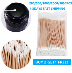 3000Pcs Long Cotton Swabs for MakeupGun Cleaning or Pets CareQ tip Swabs 6'' $8.99