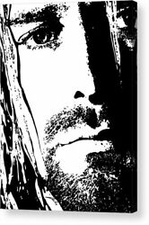 Kurt Cobain Nirvana Art Print Posters Canvas Framed Wall Art $18.00