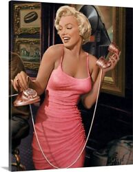 Marilyns Call Wall Hanging Print Posters Canvas Framed Wall Art $34.00