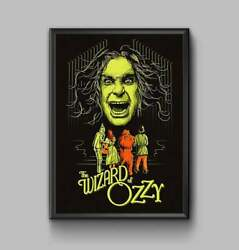 Ozzy Osbourne Wall Hanging Print Posters Canvas Framed Wall Art $34.00