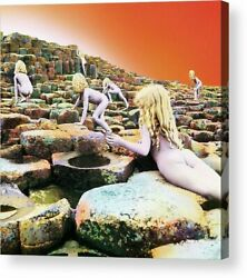 Led Zeppelin Houses of the Holy Album Cover Print Poster Canvas Framed Wall Art $30.00