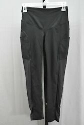 The North Face Perfect Core Novelty High Rise 7 8 Tight Women#x27;s Size S Black $21.25