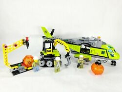Incomplete Lego 60123 Volcano Supply Helicopter with Boulder Opener amp; Excavator $29.99