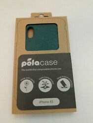 Pela iPhone Xs Green Compostable Eco Friendly Protective Case New in Box $11.95