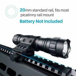 1000 Lum Tactical Flashlight LED Rechargeable for Outdoor Hunting Shooting New $17.09