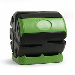 Hot Frog 37 Gal. Recycled Plastic Compost Tumbler Black amp; Green $111.00