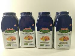4 PACK Jobes Organic Slow Release Plant Food Annuals and Perennials1.2 Lb $33.24