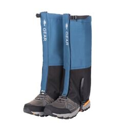 Waterproof Climbing Hiking Boot Cover Legging Trekking Snow Gaiters Shoes Cover $10.99
