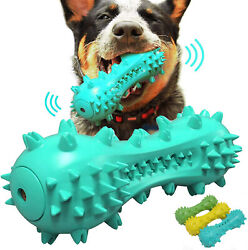 Pet Dog Cleaning Chew Toys for Aggressive Dogs Rubber Molar Stick Dog Oral Teeth $6.99