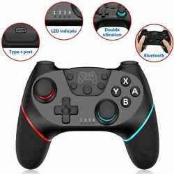 Wireless Controller Gaming for N SL Red amp; Blue Trim Open Box $24.99