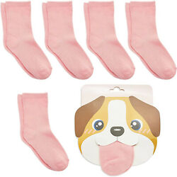 Dog Lovers Socks for Girls Novelty Party Favors One Size 6 Pairs $10.19
