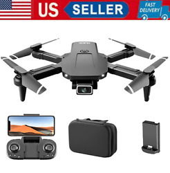 S68 RC Drone w 4K HD Camera WIFI FPV Drone Mini Foldable Quadcopter Toy for Kids $32.61