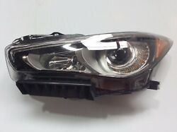 FOR INF Q50#x27;S HEADLIGHT LAMP LED WITH AFS 2014 17 LEFT SIDE $759.99