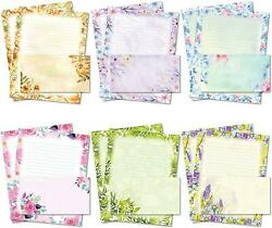 Stationary Writing Paper with Envelopes Flora Stationery Set with Lined Letter $19.99