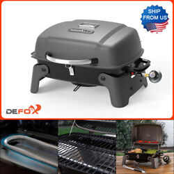 Nexgrill Portable Table Top Grill 1 Burner Propane Gas Stainless Steel Compact $63.99