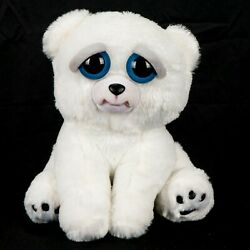 Feisty Pets Karl the Snarl Polar Bear Plush 8quot; Angry Teeth White Teddy Toy $19.86