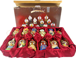 Elements Globe 12 Days of Christmas Waterballs 12 3quot; High Ornaments #44142202JC $49.94