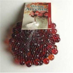 Red Glass Marbles 100 Count Per Order 1 2quot; in Diameter $22.77
