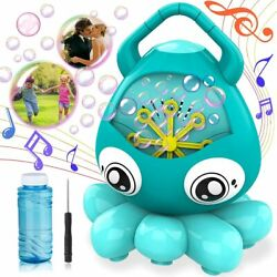 Bubble Machine for Kids Automatic Bubble Blower Maker Indoor amp; Outdoor Games $12.99