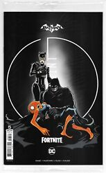 Batman Fortnite Zero Point #5 Mustard Variant Sealed with Code DC 2021 NM $5.99