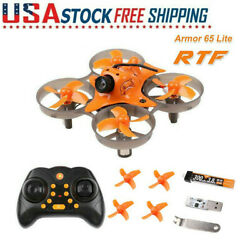 Armor 65 Lite RTF 65mm with Radio Tiny Whoop Micro FPV RC Drone Quadcopter $58.87
