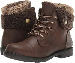 CLIFFS BY WHITE MOUNTAIN Women#x27;s Duena Hiking Style Boot Brown Size 9.0 FK3t $18.36