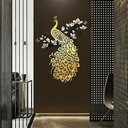 Doeean Peacock 3D Wall Decor Wall Decals Wall Decorations Wall Stickers for B... $36.28
