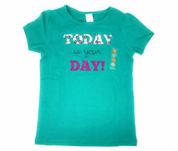 Gymboree Girls Novelty Graphic quot;Today Is Your Dayquot; Shirt Sz 8 NWT School Fall $11.99